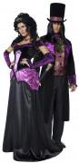 Disfraz de pareja de conde y condesa ideal para Halloween