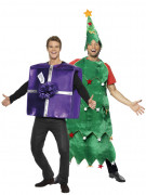 Gift and Chistmas tree costumes