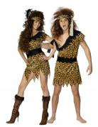 Disfraz de pareja de cavern�colas
