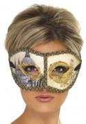 Masque v�nitien de Colombine adulte