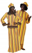 African costumes for couple