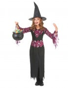 Disfraz de bruja para ni�a ideal para Halloween