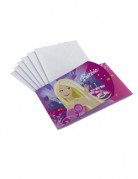 6 Cartons d\'invitations Barbie�
