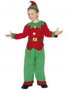 Déguisement elfe garçon Noël