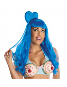 Ihnen gefällt sicherlich auch : Erwachsenen-Per�cke California Girl in Blau