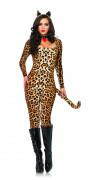 Leopard-Kost�m Sexy f�r Damen