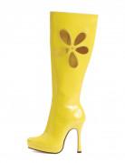 Gelbe Stiefel f�r Damen