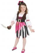 Anche ti piacer� : Costume pirata rosa bambina