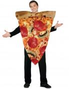 St�ck-Pizza-Kost�m f�r Erwachsene