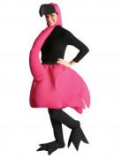 Flamingo-Kost�m f�r Erwachsene