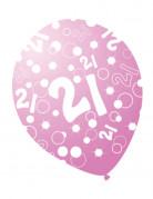 Vous aimerez aussi : 6 Ballons �ges nacr�s rose