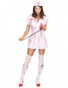 blutiges Krankenschwestern Kost�m Halloween f�r Damen