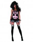 D�guisement squelette femme Halloween sexy