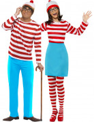 Where is Wally� ?  costume for couple