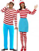 Disfraz pareja ¿Donde está Wally? Alicante