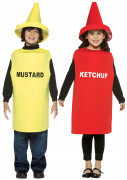 D�guisement couple ketchup & moutarde enfant