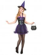 D�guisement sorci�re femme halloween