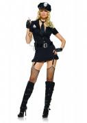 Sexy Polizistinnen-Kost�m f�r Damen