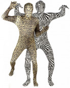 D�guisement couple Morphsuits�