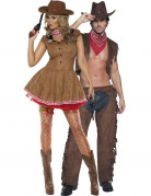 Cowgirl and Cowboy costumes for couple