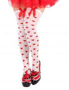 Vous aimerez aussi : Bas blancs coeurs rouges femme