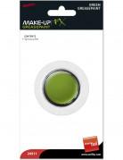 Maquillaje cara y cuerpo de color verde