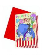 Vous aimerez aussi : 6 cartes d'invitation Winnie Alphabet�