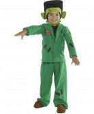 D�guisement monstre vert enfant Halloween