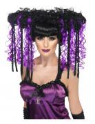Vous aimerez aussi : Perruque manga violette et noire femme
