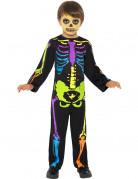 Anche ti piacer� : Costume scheletro colorato bambino Halloween