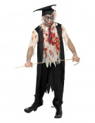Zombiekost�m junger Dipolomierter Erwachsene Halloween