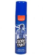 K�rper-und Haarspray blau