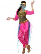 Disfraz de bailarina oriental rosa