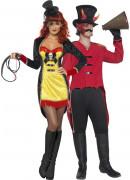 Disfraz de pareja de circo Halloween
