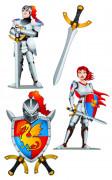 D�coration murale chevaliers m�di�vaux