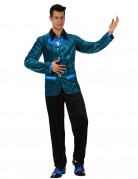 D�guisement style ann�es 60 bleu homme