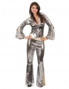 Ihnen gefällt sicherlich auch : Silbernes Disco-Kost�m f�r Damen