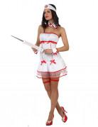 Sexy Krankenschwester-Kost�m f�r Damen
