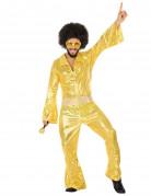 Goldenes Disco-Kost�m f�r Herren