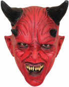 Masque diable rouge enfant Halloween