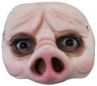 Schwein - Halbmaske f�r Erwachsene