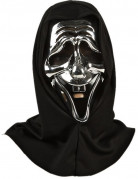Ihnen gefällt sicherlich auch : Silberne Monster Maske Halloween f�r Erwachsene