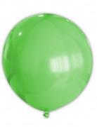 Globo gigante de color verde