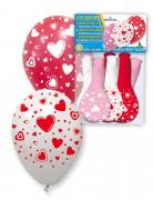 Vous aimerez aussi : 8 Ballons imprim�s coeurs