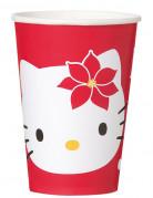 8 Gobelet Hello Kitty� No�l