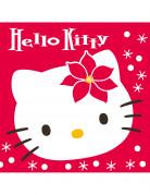 20 Serviettes Hello Kitty� No�l