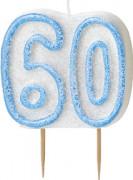 Vous aimerez aussi : Bougie Age 60 ans bleu