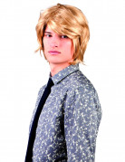 Perruque blonde courte adulte