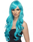 Vous aimerez aussi : Perruque longue ondul�e bleue turquoise femme