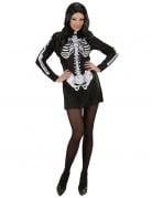 D�guisement robe squelette femme Halloween